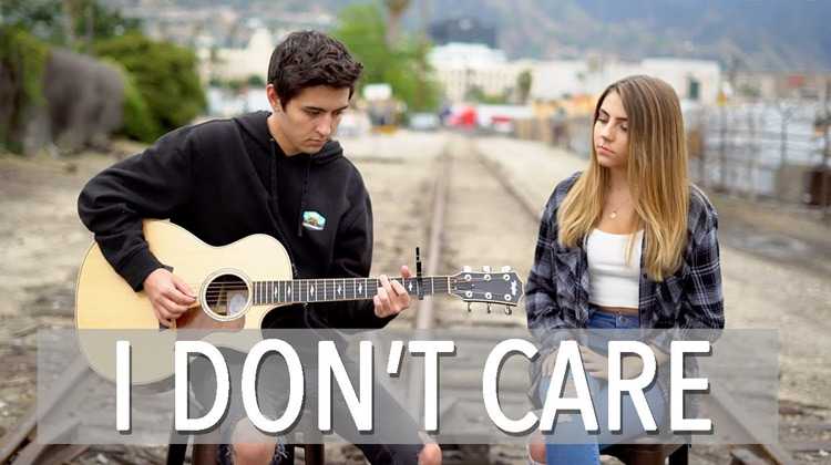Kyson Facer & Jada Facer - I Don't Care (Music Cover)